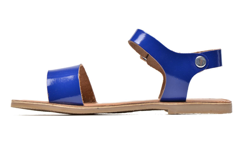 Sandales et nu-pieds Les Tropéziennes par M Belarbi Hiliona Bleu vue face