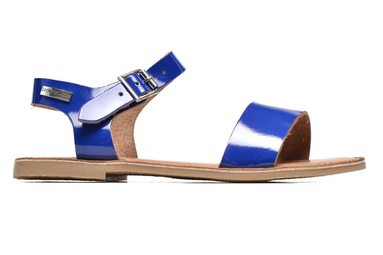 Sandales et nu-pieds Les Tropéziennes par M Belarbi Hiliona Bleu vue derrière