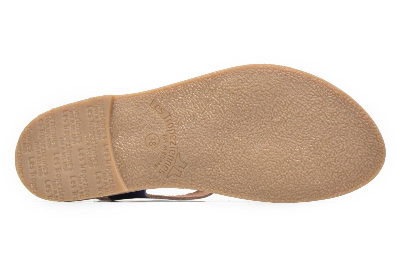 Sandales et nu-pieds Les Tropéziennes par M Belarbi Hiliona Bleu vue haut