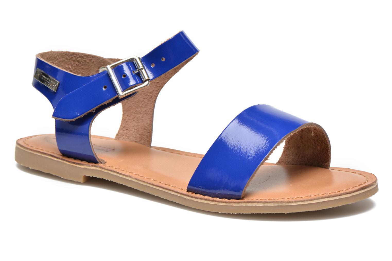 Sandales et nu-pieds Les Tropéziennes par M Belarbi Hiliona Bleu vue détail/paire