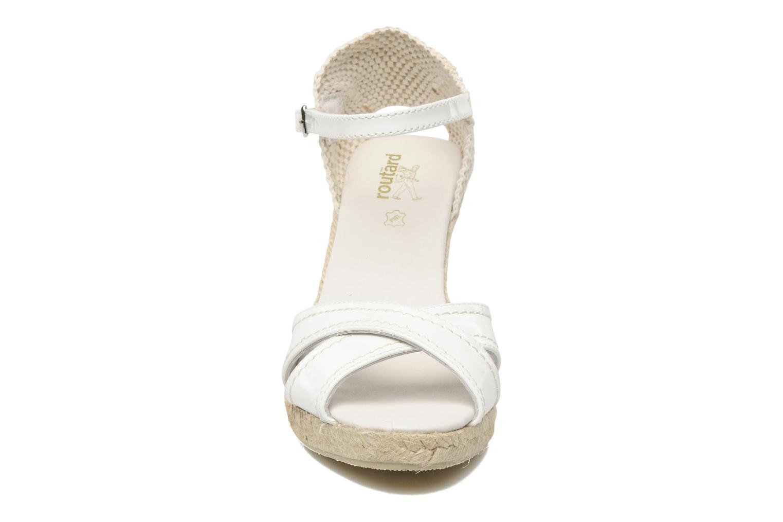 Sandalen Le Routard Minya weiß schuhe getragen