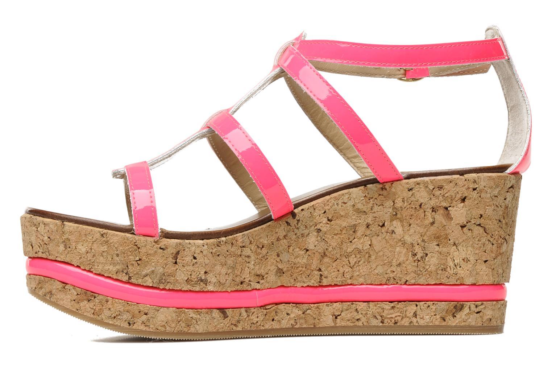 Sandales et nu-pieds Tapeet Tipia Rose vue face