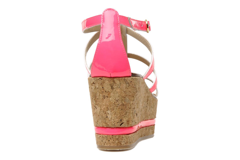 Sandales et nu-pieds Tapeet Tipia Rose vue droite