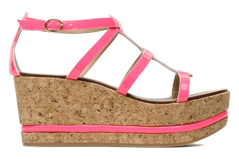 Sandales et nu-pieds Tapeet Tipia Rose vue derrière