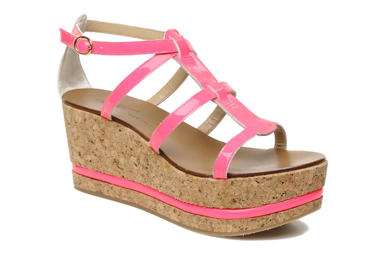 Sandales et nu-pieds Tapeet Tipia Rose vue détail/paire