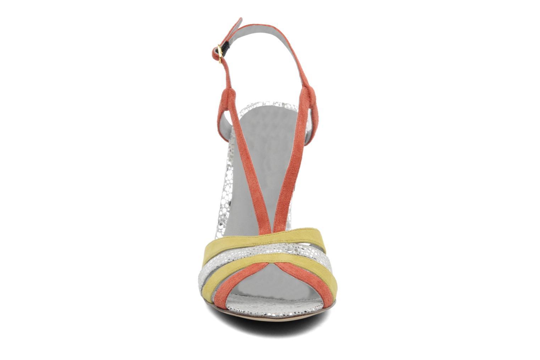 Sandalen Fred Marzo Josy mehrfarbig schuhe getragen