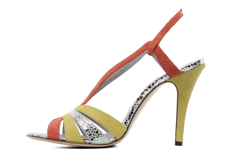 Sandales et nu-pieds Fred Marzo Josy Multicolore vue face