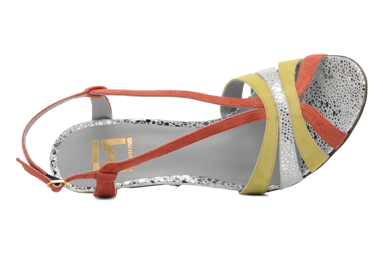 Sandales et nu-pieds Fred Marzo Josy Multicolore vue gauche