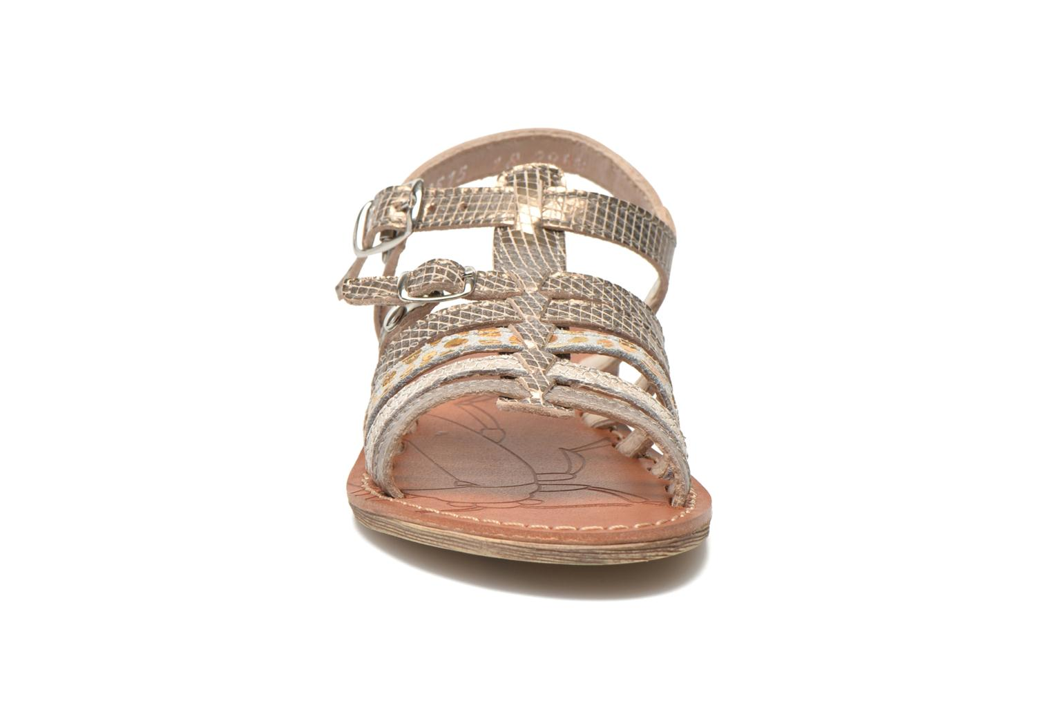 Sandals Ramdam by GBB Bangkok Bronze and Gold model view