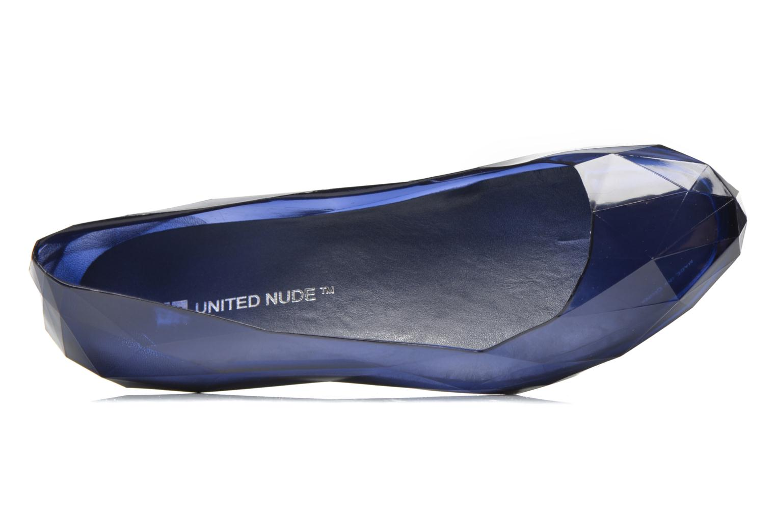 Ballet pumps United Nude Lo Res Low Blue view from the left