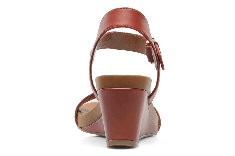 Sandali e scarpe aperte Bruno Premi Noa Rosso immagine destra