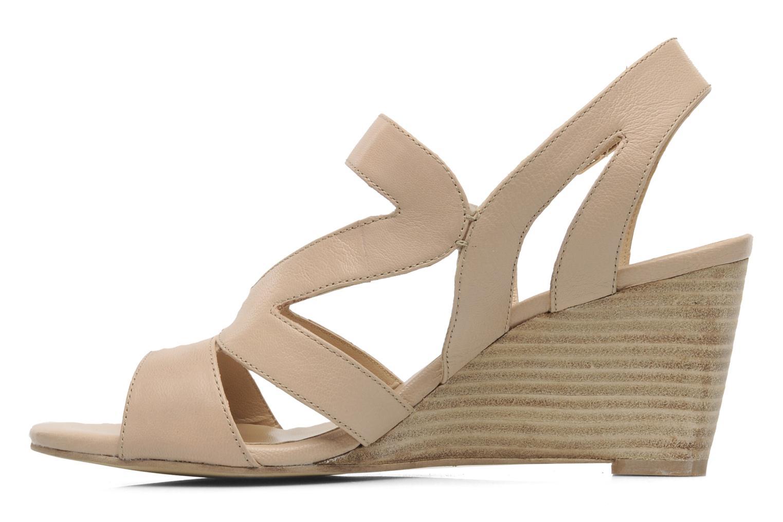 Sandali e scarpe aperte Bruno Premi Mia Beige immagine frontale