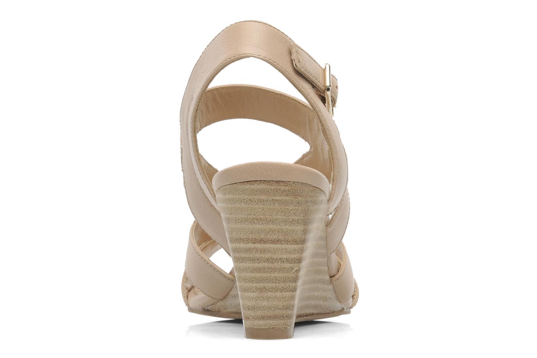 Sandali e scarpe aperte Bruno Premi Mia Beige immagine destra