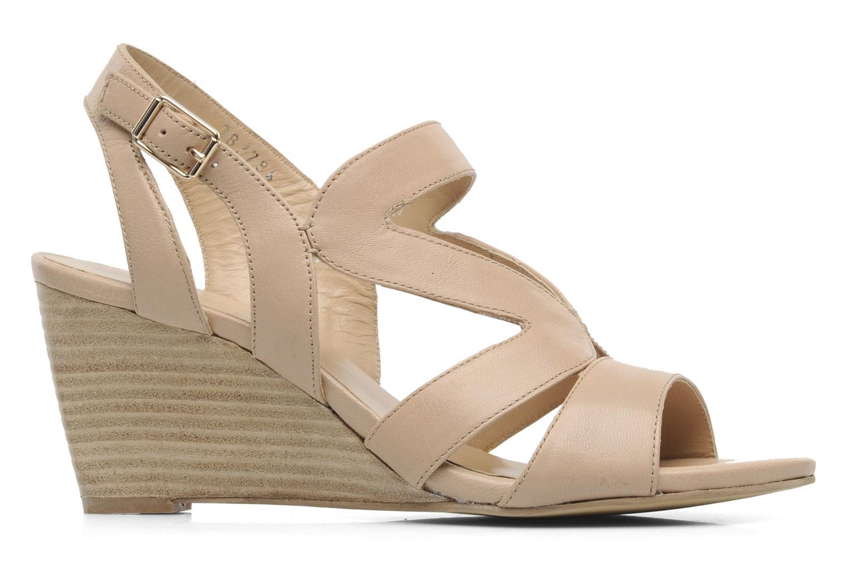 Sandales et nu-pieds Bruno Premi Mia Beige vue derrière