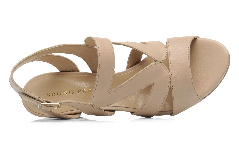 Sandali e scarpe aperte Bruno Premi Mia Beige immagine sinistra