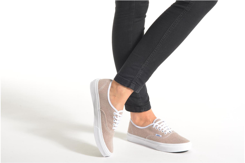 Sneaker Vans Authentic Slim W mehrfarbig ansicht von unten / tasche getragen