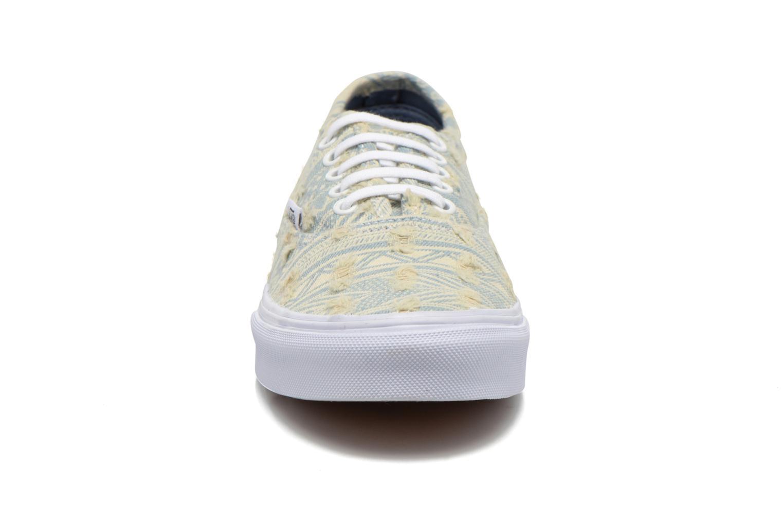 Sneaker Vans Authentic Slim W mehrfarbig schuhe getragen