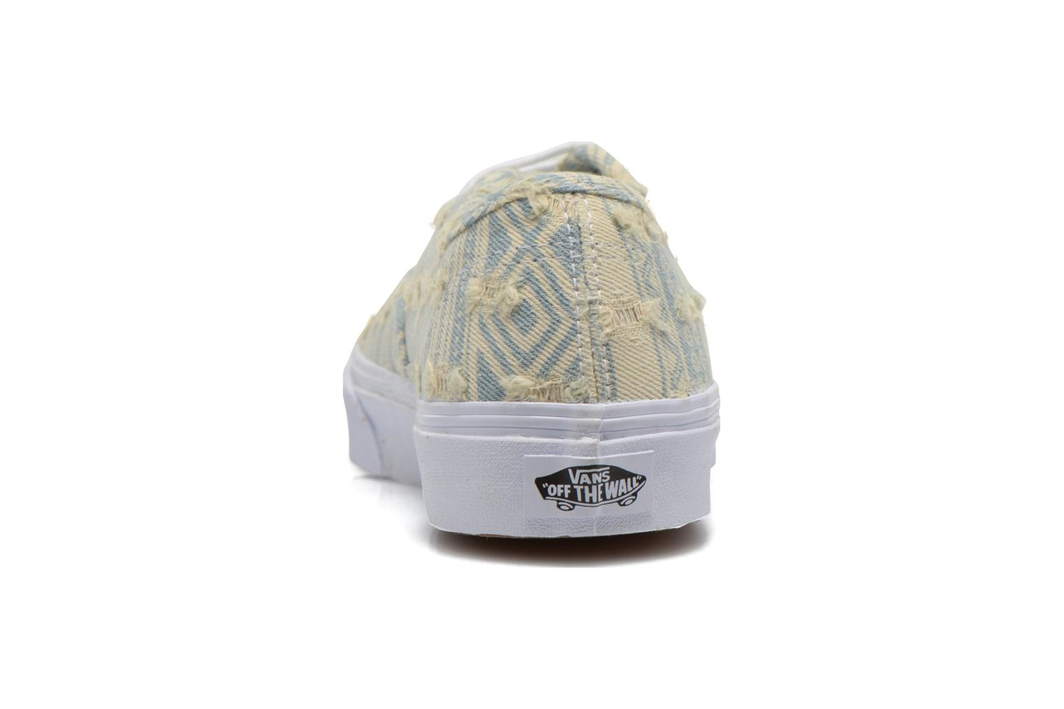 Trainers Vans Authentic Slim W Multicolor view from the right