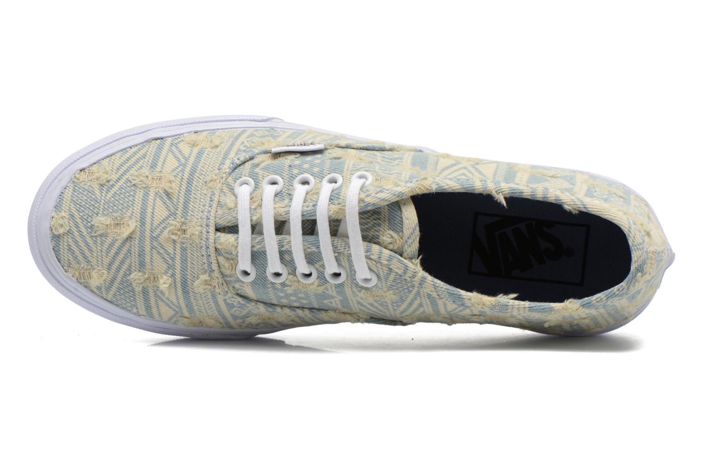 Sneaker Vans Authentic Slim W mehrfarbig ansicht von links