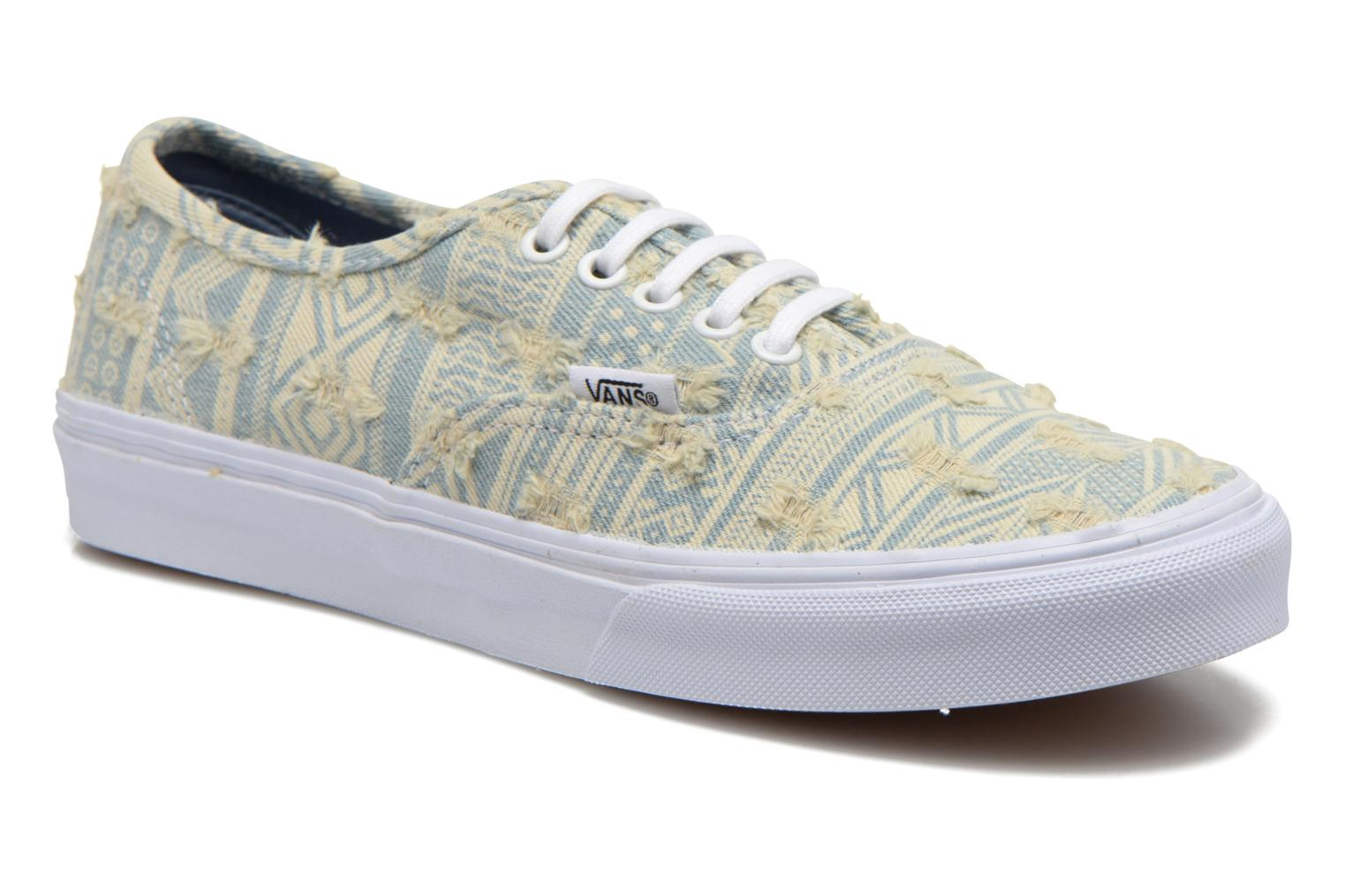 Authentic Slim W (Frayed Native) true white