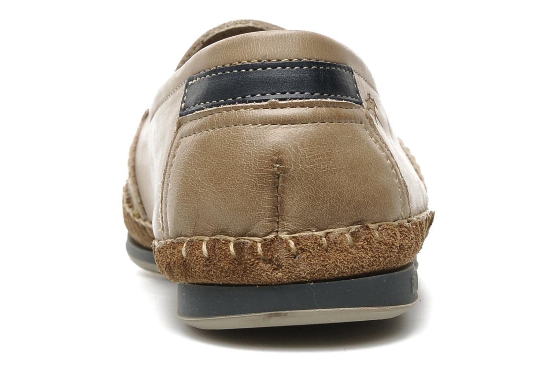 Loafers Fluchos Bahamas 8674 Beige Bild från höger sidan