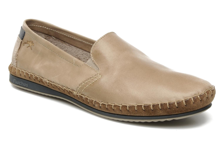 Loafers Fluchos Bahamas 8674 Beige detaljerad bild på paret