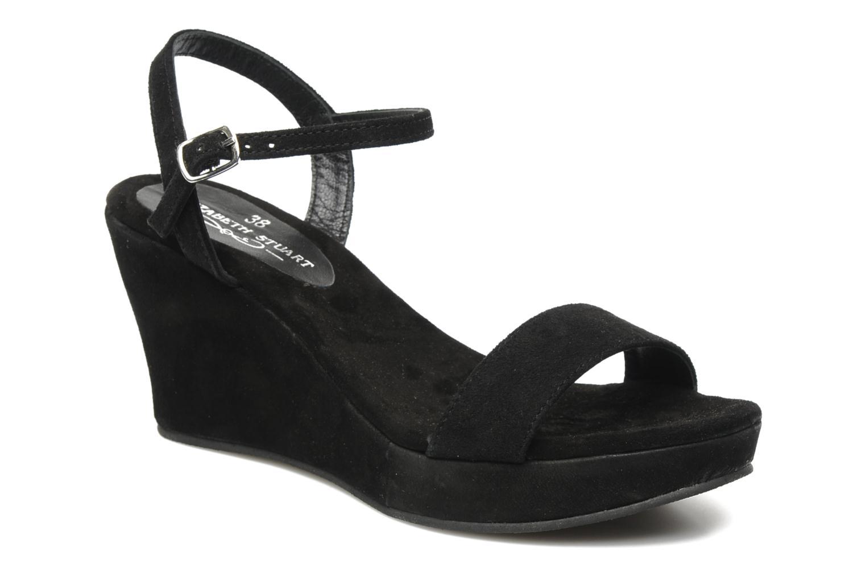 Marques Chaussure femme ES by Elizabeth Stuart femme Jason 606 Velours Noir