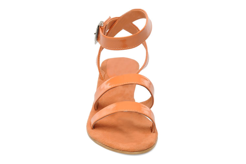 Sandalen Elizabeth Stuart Segur 658 orange schuhe getragen
