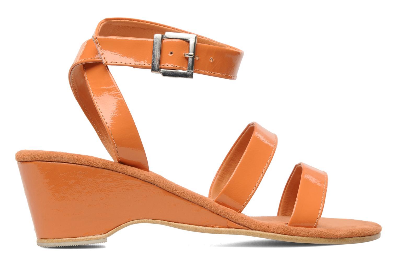 Sandalen Elizabeth Stuart Segur 658 orange ansicht von hinten