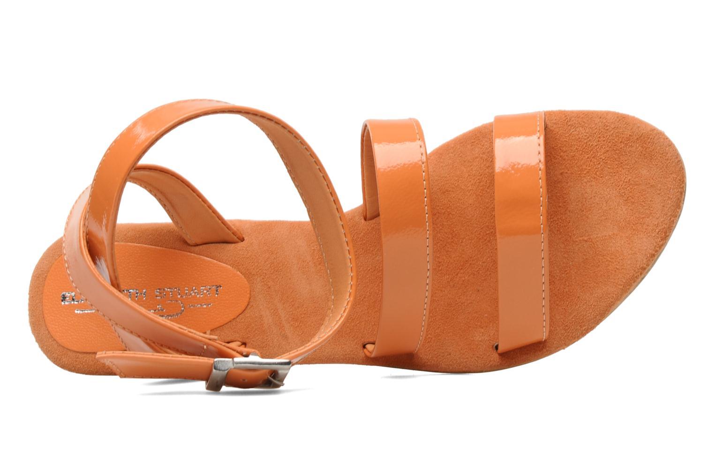 Sandales et nu-pieds Elizabeth Stuart Segur 658 Orange vue gauche