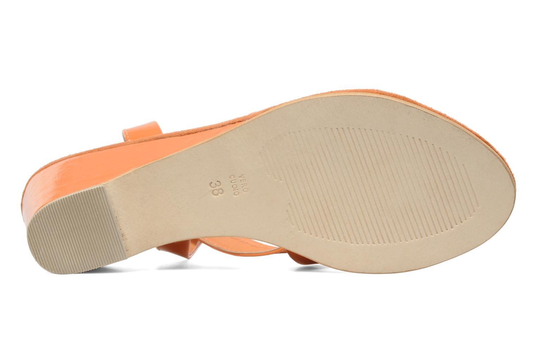 Sandales et nu-pieds Elizabeth Stuart Segur 658 Orange vue haut