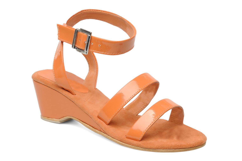 Sandalen Elizabeth Stuart Segur 658 orange detaillierte ansicht/modell