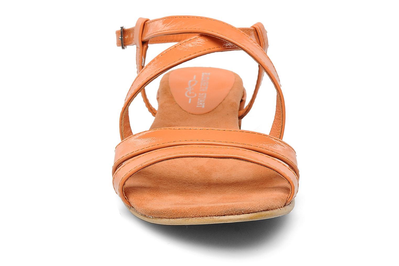 Sandales et nu-pieds Elizabeth Stuart Abrey 658 Orange vue portées chaussures