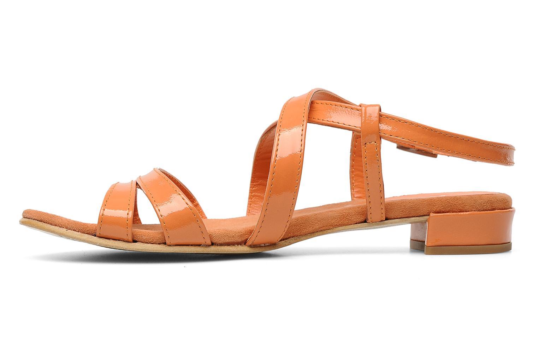 Sandales et nu-pieds Elizabeth Stuart Abrey 658 Orange vue face