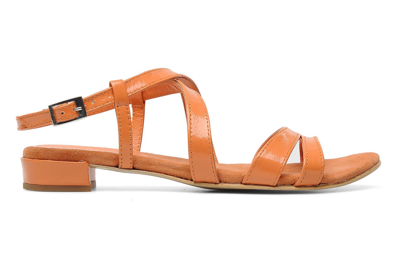 Sandales et nu-pieds Elizabeth Stuart Abrey 658 Orange vue derrière