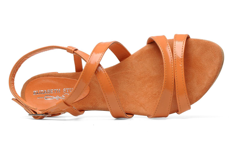 Sandales et nu-pieds Elizabeth Stuart Abrey 658 Orange vue gauche