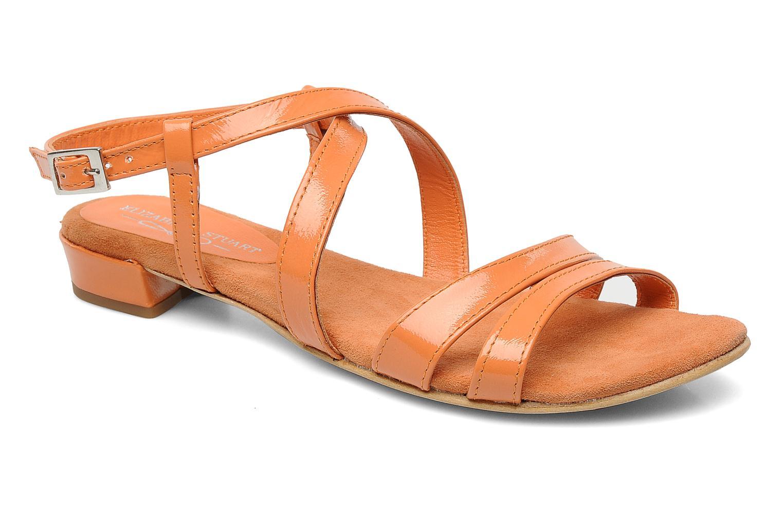 Sandales et nu-pieds Elizabeth Stuart Abrey 658 Orange vue détail/paire