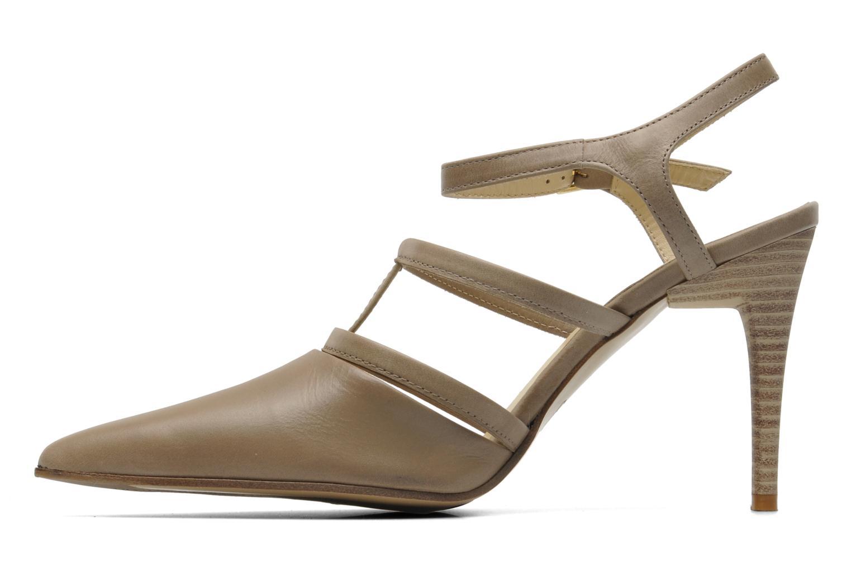 High heels Elizabeth Stuart Vassel 304 Beige front view