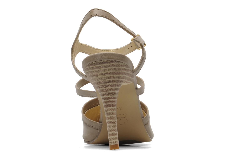 High heels Elizabeth Stuart Vassel 304 Beige view from the right