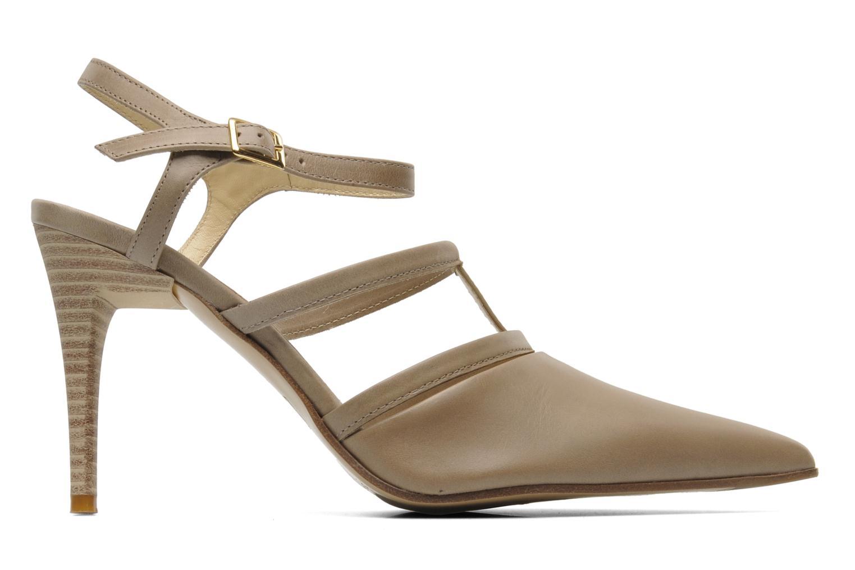 High heels Elizabeth Stuart Vassel 304 Beige back view