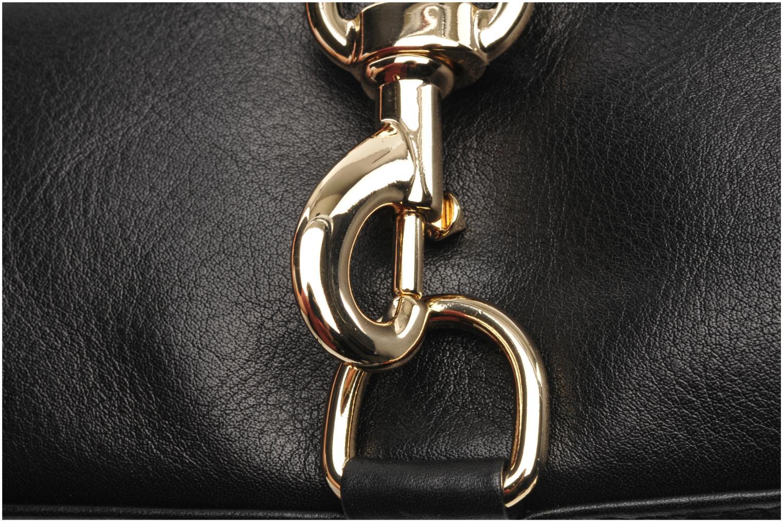 Handtaschen Rebecca Minkoff Mini MAC schwarz ansicht von links