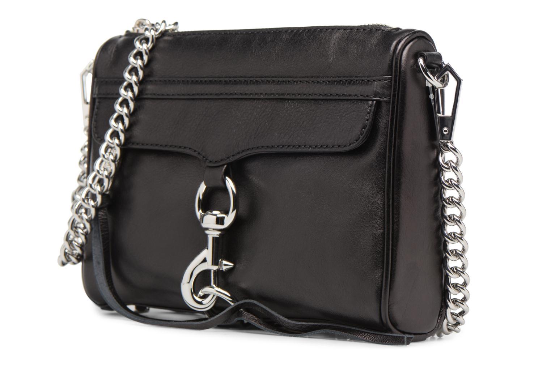 Handtaschen Rebecca Minkoff Mini MAC schwarz schuhe getragen