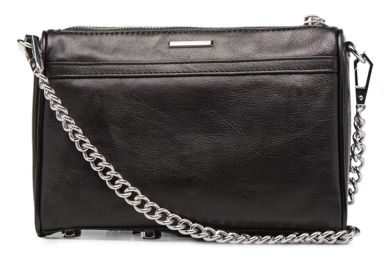 Handtaschen Rebecca Minkoff Mini MAC schwarz ansicht von vorne