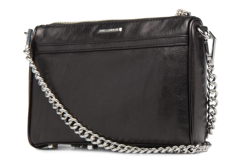 Handtaschen Rebecca Minkoff Mini MAC schwarz ansicht von rechts
