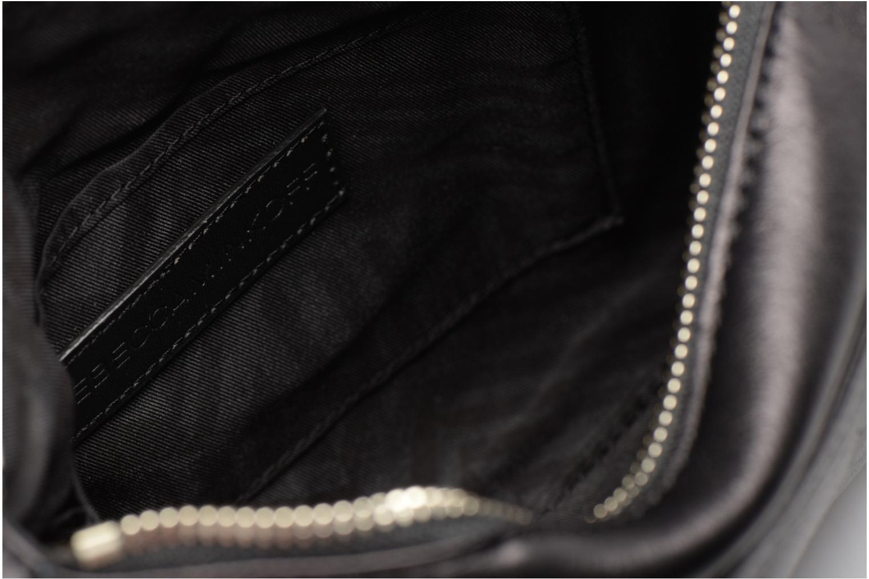 Handtaschen Rebecca Minkoff Mini MAC schwarz ansicht von hinten