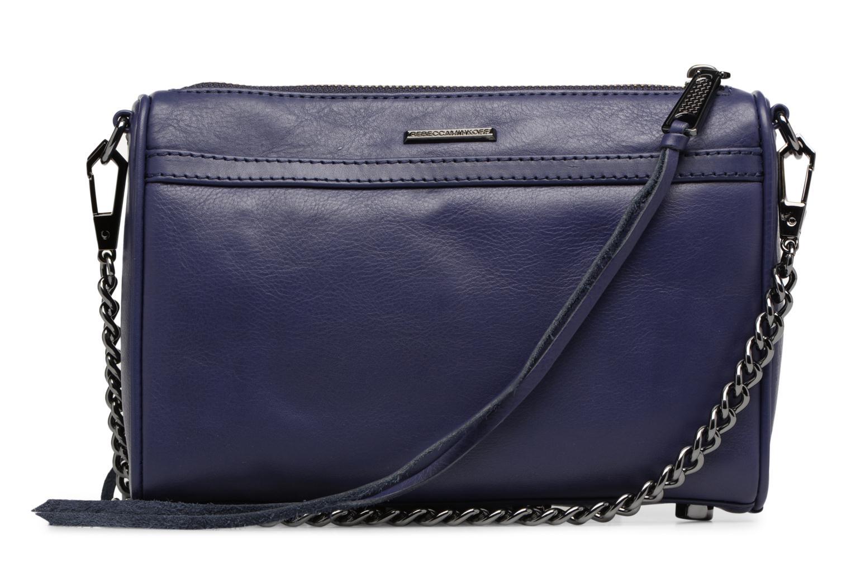 Handtaschen Rebecca Minkoff Mini MAC blau ansicht von vorne