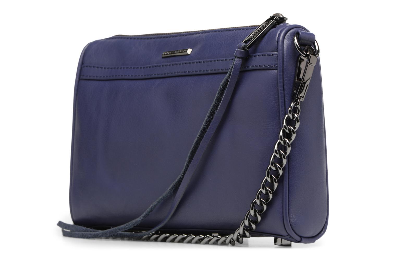 Handtassen Rebecca Minkoff Mini MAC Blauw rechts