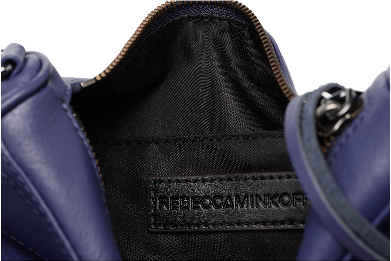 Handtaschen Rebecca Minkoff Mini MAC blau ansicht von hinten