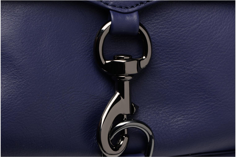 Håndtasker Rebecca Minkoff Mini MAC Blå se fra venstre