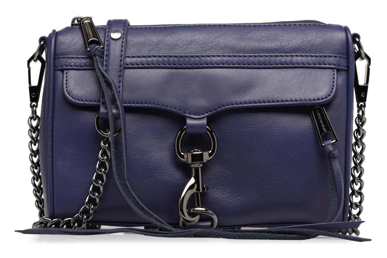 Håndtasker Rebecca Minkoff Mini MAC Blå detaljeret billede af skoene